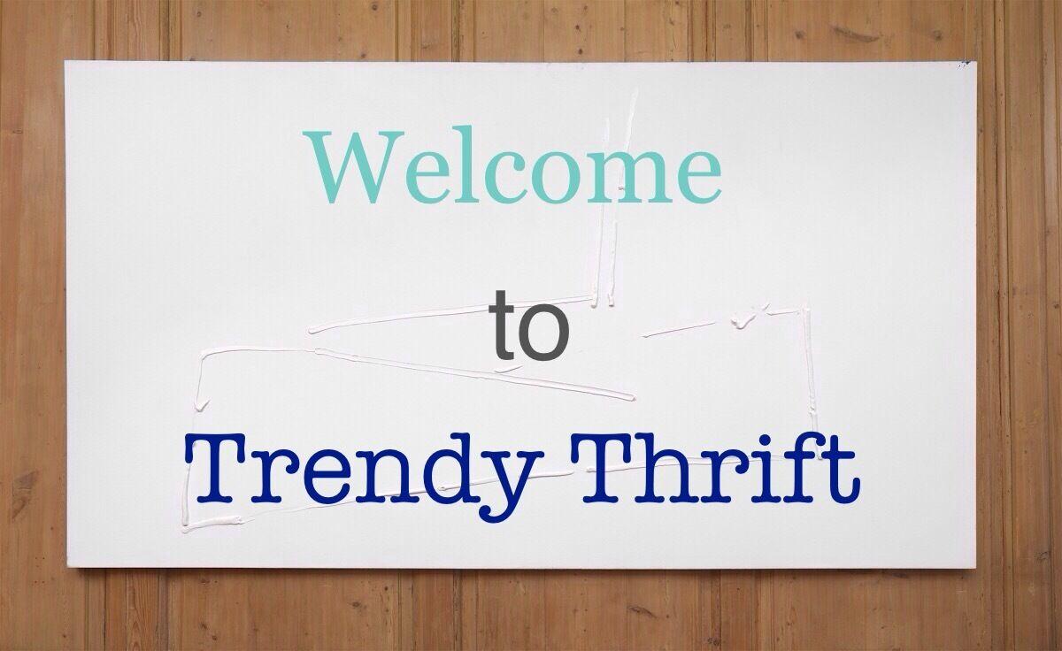 Trendy Thrift Box