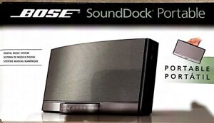 Bose Sound Dock Portable Speakers with Carrying Case