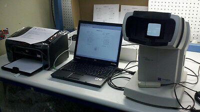 Zeiss Humphrey 710 Fdt With Laptop Computer Fdt Vvew Finder Software And Printer