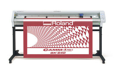 Roland Camm-1 Pro Gx-640 64 Vinyl Cutter Plotter Wideimagesolutions 2 Year Warr