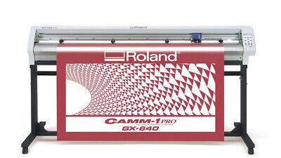 Roland Camm-1 Pro Gx-640 64 Vinyl Cutter Plotter Wideimagesolutions 2 Year Warr