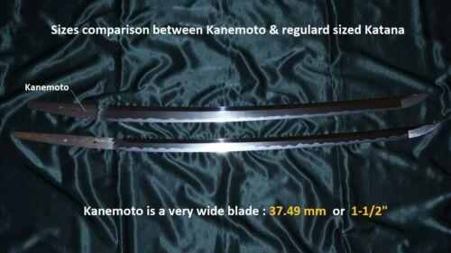 SUPERB MASSIVE VERY WIDE KOTO KATANA by KANEMOTO  ca.1570  Japanese Sword Tsuba