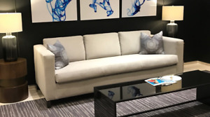 Custom Grey Couch / Sofa - For Sale - (75% off)