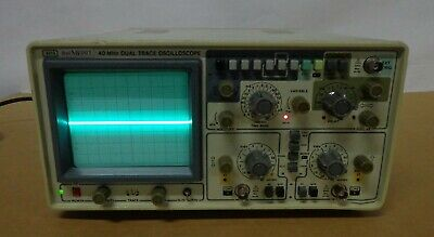 Bel Merit 3315 40mhz Dual Trace Oscilloscope