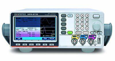 Gw Instek Mfg-2110 Mfg-2000 Multi-channel Arbitrary Function Generator With...