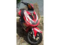 Yamaha Aerox YQ50 Milwaukee Edition reg feb 2015 Great condition