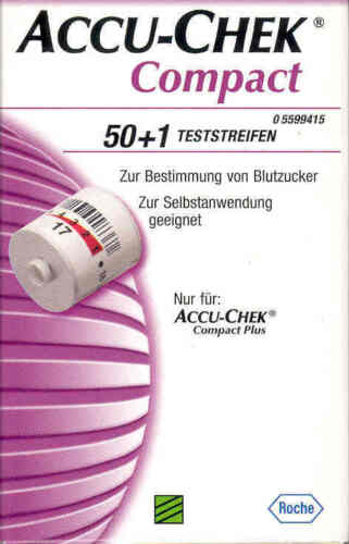 Accu-chek Compact Test Strips New+ Boxed from Dealer
