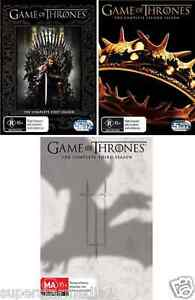 GAME OF THRONES TV Series: SEASON 1+2+3 = NEW R4 DVD
