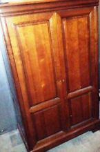 Lockable Large Cherrywood Cupboard Taree Greater Taree Area Preview