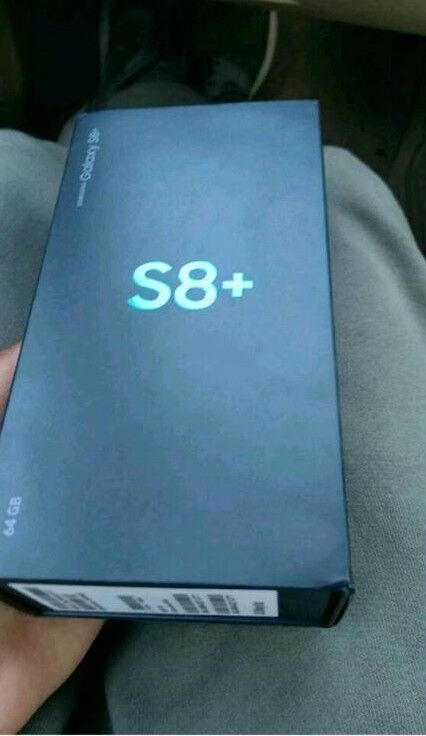 Sealed S8 plus Locked to 02