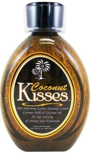 COCONUT KISSES Ed Hardy Tanning Bed Lotion 13.5 oz Tanovations