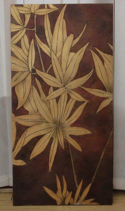 3003339d583 Metal Flower Wall Art Bought from Local Art Gallery