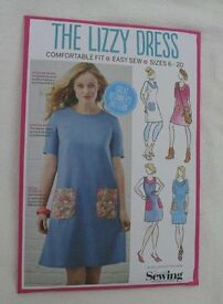The Lizzy Dress pattern for Size 6 - 20