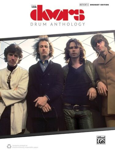 The Doors Drum Anthology Authentic Drumset Edition Book NEW! OUT OF PRINT!