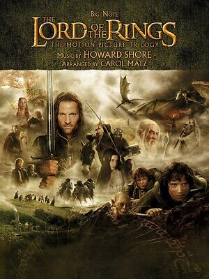 Big Note Piano Songbook (The Lord of the Rings Triology - Big Note Piano Songbook)