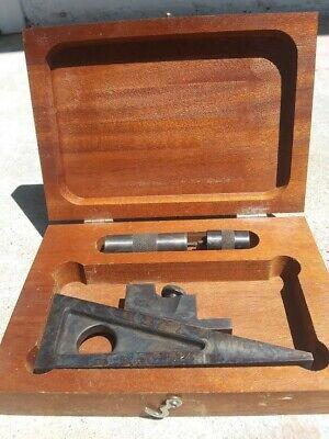 Starrett No 246 Planer Shaper Universal Height Hage Machinist Tool W Box