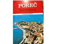 Porec Guide Book. Yugoslavia. Rare!
