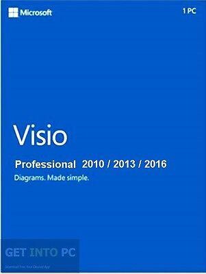 Genuine Product   Visio 2016   2013   2010 Professional Retail