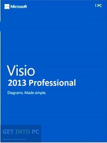 [Genuine] Visio 2013 Professional - No Expiry