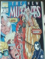 THE NEW MUTANTS #98 (Deadpool & Gideon 1st app.) white pages 9.6