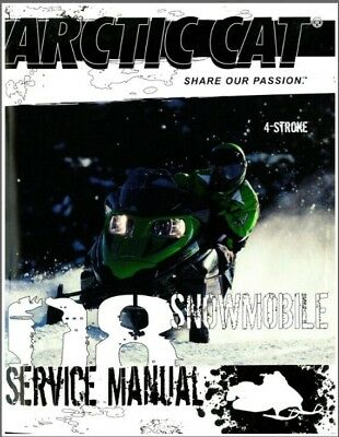 2005 arctic cat 4 stroke snowmobile repair manual