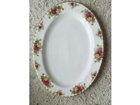 Royal albert old country roses large platter