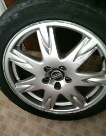 Volvo s60 v70 s80 alloy wheel THOR 17 ""
