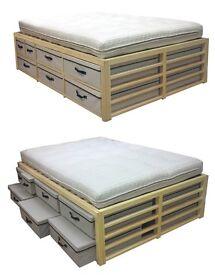 The Futon Company Double 'Wardrobe' Bed