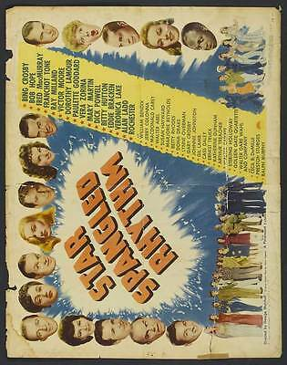 STAR SPANGLED RHYTHM Movie POSTER 27x40