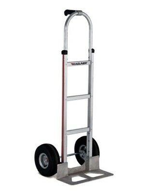 Hand Truck 117-ua-1060 Single Pin Grip Hand Truck 18 W Nose Plate 10 Tires