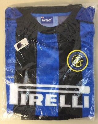 FC Inter Milan Football Jersey Shirt & Shorts Men XXL Pirelli International 1908 image