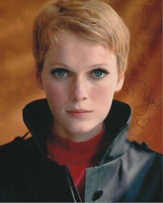 Mia Farrow Signed Photo W  Hologram Coa