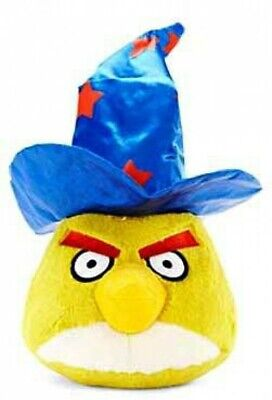 Angry Birds Yellow Bird with Wizard Hat 5-Inch Plush [Halloween]