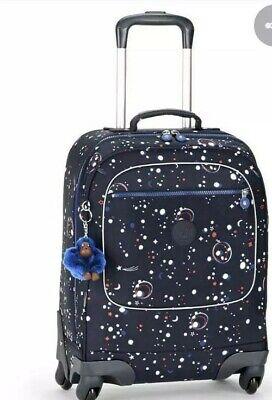 Kipling Licia spinner trolley school / cabin bag galaxy party New Rrp£159