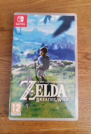 Zelda Breath of the Wild for the Nintendo Switch