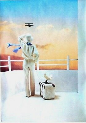 Original vintage poster LADIES FASHION AIRPLANE DOVE 1978