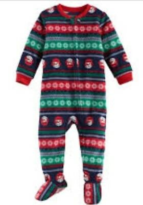 NWT Jammies for Your Families Boys 24 Month One Piece Pajamas Christmas](Boys Christmas Jammies)