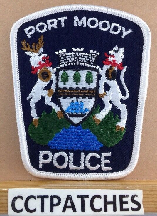 PORT MOODY, CANADA POLICE SHOULDER PATCH