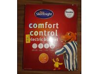 Electric Heated Blanket - Siletnight - Comfort Control Double Electric Blanket