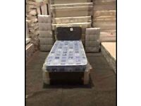 Divan Single Size Bed! Factory Packed! Optional Bed ! Quality Mattress ! Affordable Price