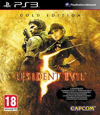 Resident Evil 5 Gold Edition PS3 playstation 3 jeux action games spelletjes 1011