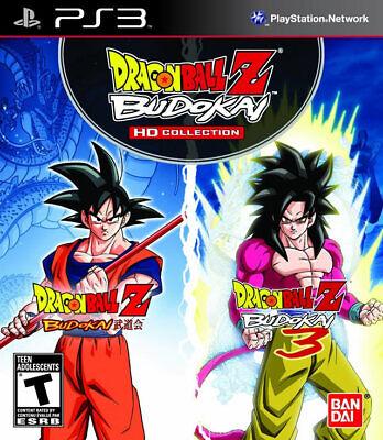 Dragon Ball Z Budokai HD Collection PS3 New PlayStation 3, Playstation 3