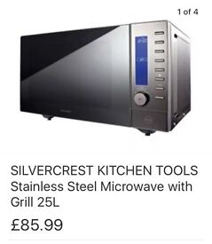 New boxed stainless steel microwave
