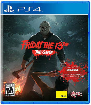 Friday The 13th: The Game PS4 New PlayStation 4, PlayStation 4