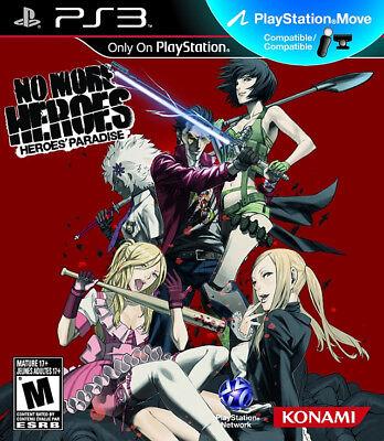 Konami No More Heroes: Heroes'' Paradise Ps3 Playstation 3