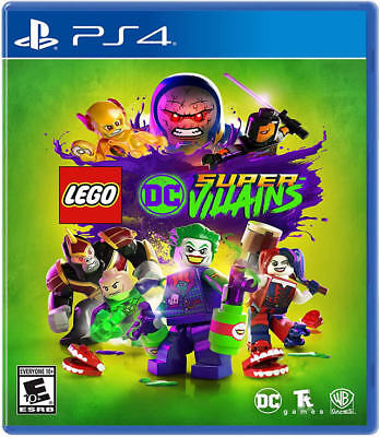 LEGO DC Super-Villains PS4 New PlayStation 4,PlayStation 4