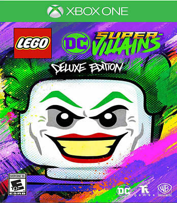 LEGO DC Super-Villains Deluxe Edition Xbox One New Xbox One,Xbox One