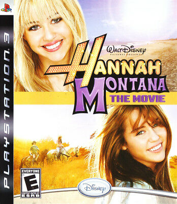 Disney Hannah Montana The Movie Ps3 Playstation 3