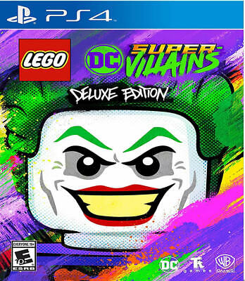 LEGO DC Super-Villains Deluxe Edition PS4 New PlayStation 4,PlayStation 4