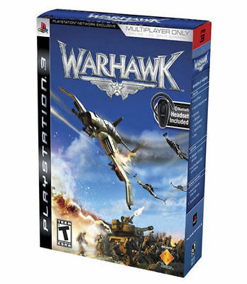 Sony Warhawk W/bluetooth Headset (online Only) Ps3 Playst...